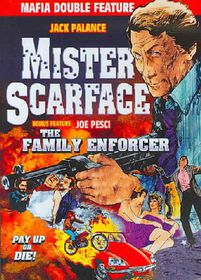 Crime Boss Double Feature: Mr. Scarface (1976)/Family Enforcer (1976) - (Region 1 Import DVD)