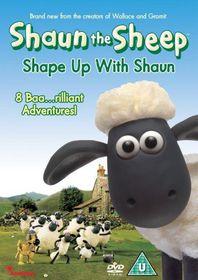 Shaun The Sheep: Shape Up With Shaun - (Import DVD)