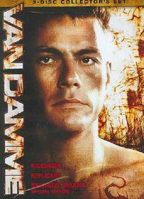 Van Damage Triple Feature - (Region 1 Import DVD)