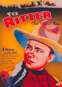 Classic Westerns - Tex Ritter Four Feature - (Region 1 Import DVD)