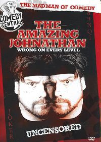 Amazing Johnathan: Wrong On Every Level - (Region 1 Import DVD)