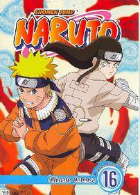 Naruto Vol 16:Ultimate Defense - (Region 1 Import DVD)
