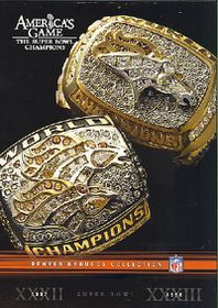 Nfl Americas Game:Denver Broncos - (Region 1 Import DVD)