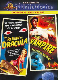 Return of Dracula/Vampire - (Region 1 Import DVD)