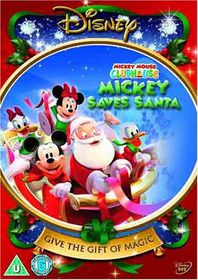 Mickey Mouse Clubhouse-Mickey Saves Santa - (Import DVD)