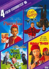 4 Film Favorites:New Line Family - (Region 1 Import DVD)