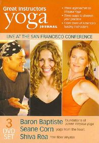 Yoga Journal: Great Instructors 3 Pack - (Region 1 Import DVD)