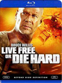Live Free or Die Hard - (Region A Import Blu-ray Disc)