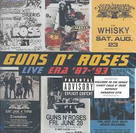 Guns n' Roses - Live Era 87-93 (CD)