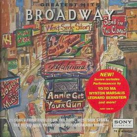 Broadway - Greatest Hits - Various Artists (CD)