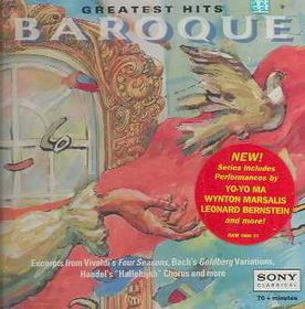 Baroque Greatest Hits - Various Artists (CD)