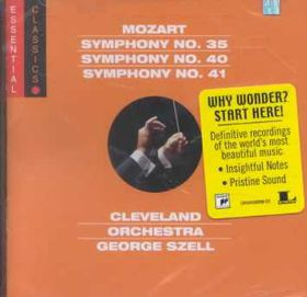 Cleveland Orchestra - Symphonies Nos.35, 40 & 41 (CD)