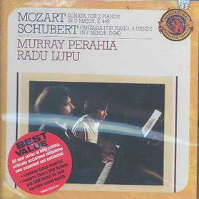 Murray Perahia - Sonata In D Major For Two Pianos - Expanded (CD)