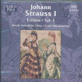 Strauss Johann - Edition Vol.4;Marzendorfer (CD)