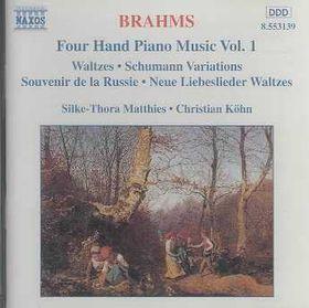 Matthies / Kohn - Piano Music For 4 Hands Vol. 1 (CD)