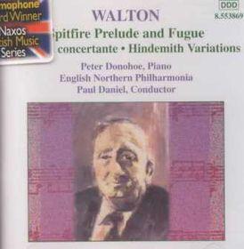 Walton:sinf Conc/hindemith Var - Sinfonia Concertante (CD)