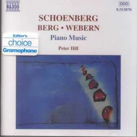 Berg - Piano Music (CD)