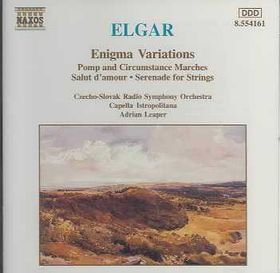 Czech-Slovak State Philharmonic Orchestra - Enigma Variations & Pomp & Circumstance Marches (CD)