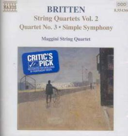 Maggini String Quartet - String Quartets Vol 2 (CD)