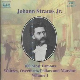 100 Most Famous Works Vol 1 - Various Artists (CD)
