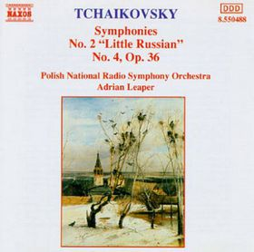 Tchaikovsky:Symphonies Nos 2 & 4 - (Import CD)