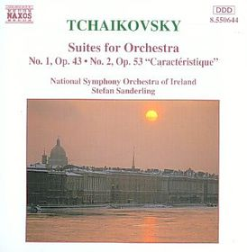 Tchaikovsky:Suites Nos 1 & 2 - (Import CD)