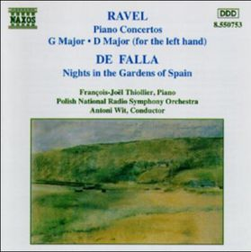 Ravel/De Falla - Piano Conc.Nights In The (CD)