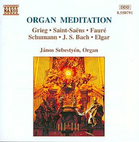 Organ Meditation - Organ Meditation (CD)