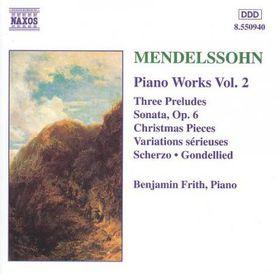 Benjamin Frith - Piano Works Vol. 2 (CD)