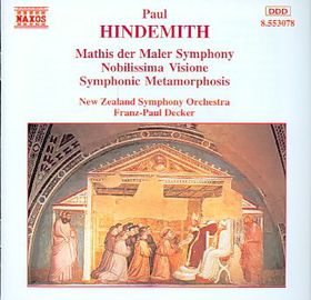 New Zealand Symphony Orchestra - Symphony Mathis Der Maler / Nobilissima Visione (CD)