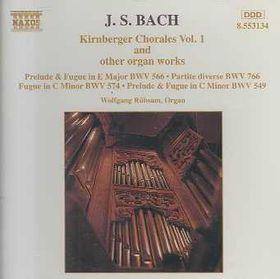 Wolfgang Rubsam - Kirnberger Chorales Vol. 1 (CD)