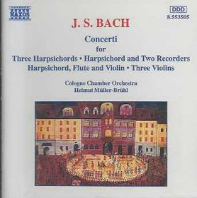 Cologne Chamber Orchestra - Concertos For Various Instruments (CD)