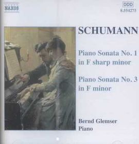 Schumann - Piano Sonatas Nos. 1&3;Glemser (CD)