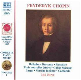 Biret, Idil - Chopin Vol.1 - Ballades, Berceuse, Fantasie (CD)