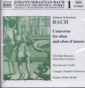 Christian Hommel - Concertos For Oboe & Oboe D' Amore (CD)