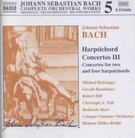 Hambitzer / Cologne Chamber Orchestra - Cembalo Concertos III (CD)