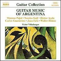 Various - Guitar Music Of Argentina;Villadangos (CD)