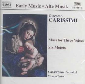 Carissimi - Mass & 6 Motets (CD)