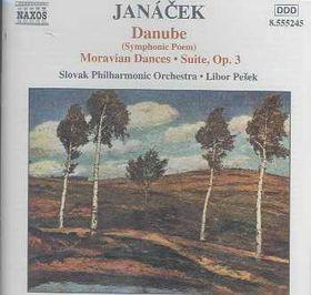Slovak Philharmonic Orchestra - Danube / Moravian Dances (CD)