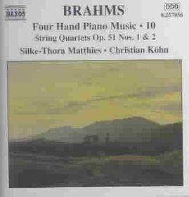 Christian Kohn - Four Hand Piano Music - Vol.10 (CD)