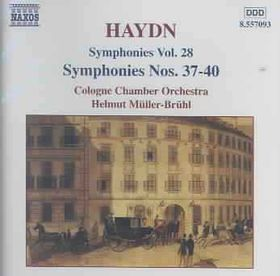Cologne Chamber Orchestra, Hel - Symphonies Nos.37-40 (CD)