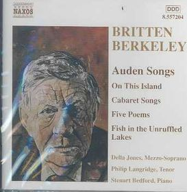 Berkeley/Britten:Auden Songs - (Import CD)