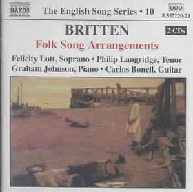 Graham Johnson - Folk Song Arrangements (CD)