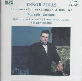 Verdi/Rossini/Bellini/Bizet/Pacini - Tenor Arias;Marcello Giordani/Mercurio (CD)