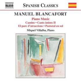 Blancafort - Piano Music - Vol.3 (CD)