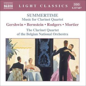 Summertime:Music for Clarinet Quartet - (Import CD)