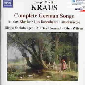 Kraus:Complete German Songs - (Import CD)