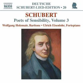 Schubert:Poets of Sensibility Vol 3 - (Import CD)