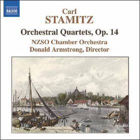 Stamitz Carl - Orchestral Ouartets Op.14 (CD)