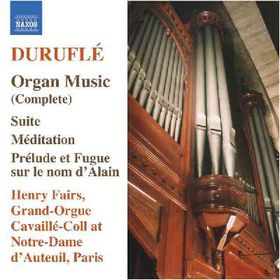 Durufle:Complete Organ Music - (Import CD)